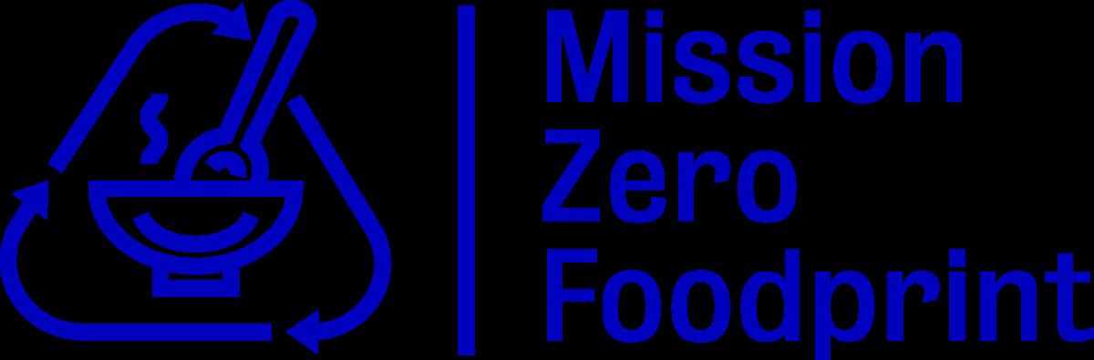 Mission Zero Foodprint -tunnus